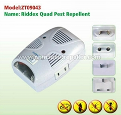 The Most Popular Riddex Quad Sonic And Electromagnetic Pest Repllent Technology
