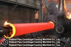 ductile iron pipe centrifugal casting machine