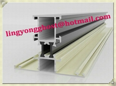 Aluminum extrtusion profile for window and door