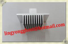 Aluminum heatsink profile