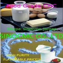 High viscosity food grade Sodium CMC