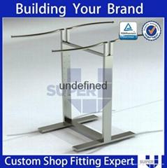Clothing Shop Double Side Adjustable Floor Standing Display