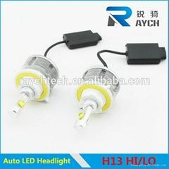 60W 6000LM car led headlight bulbs h13 hi/lo beam