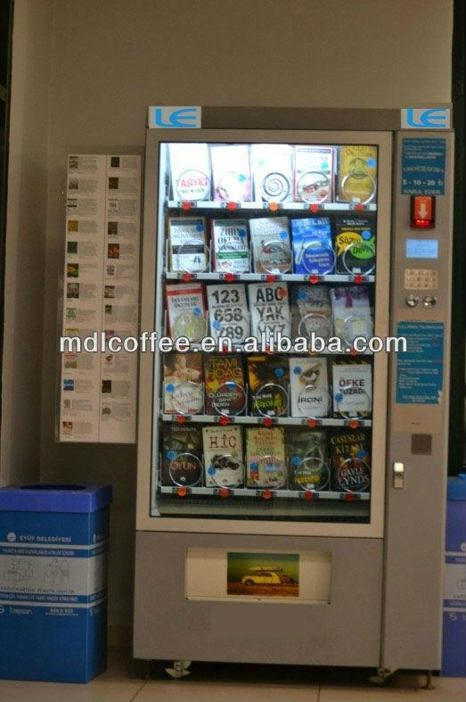 Snacks and Chips Vending Machine with Cooling System LV