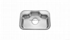 Stainless Steel Kitchen sink single bowl JIS740