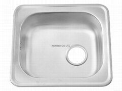 Stainless Steel Kitchen sink single bowl ISS480
