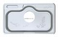 Stainless Steel Kitchen sink single bowl