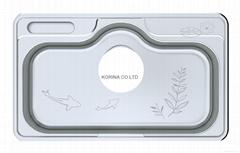 Stainless Steel Kitchen sink single bowl HJIS850PP