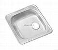 Stainless Steel Kitchen sink single bowl ISS480 2