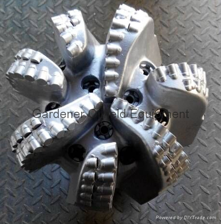 """12"""" PDC Drill Bit with 7blades and matrix body"""