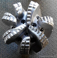 "12"" PDC Drill Bit with 7blades and matrix body"