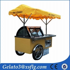 XSFLG B4 Popsicle lolly ice cream cart for sale