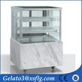 China SFC cake showcase chiller Cake