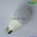 E27開關調光LED球泡燈LED燈泡9W 12W 200-240VAC 4