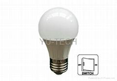 E27開關調光LED球泡燈LED燈泡9W 12W 200-240VAC