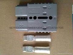 Anderson原装SB175A600V灰色叉车电池充电插头