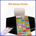 name sticker iron on label TSC printer