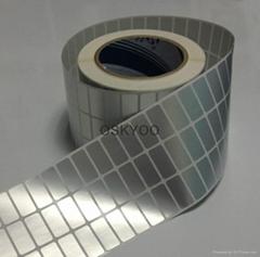 PVC waterproof  20meters/roll printer name stickers
