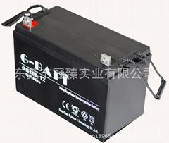 欧美非亚畅销品牌G-BATT冠臻正品电池 LG12V100AH