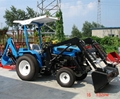 Tractor Front Loader Parts : Small garden tractor jinma y with front loader