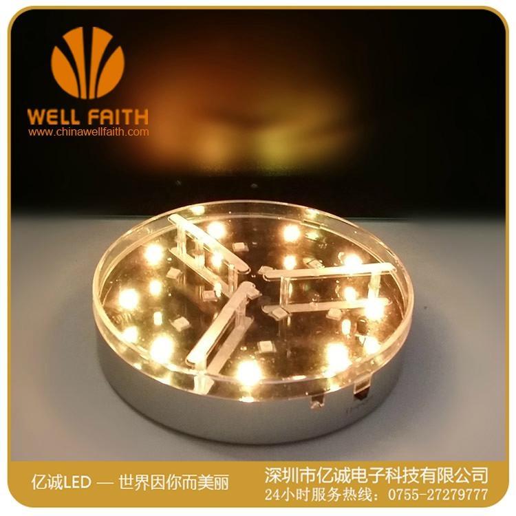 创意防水可遥控LED水族潜水灯 3