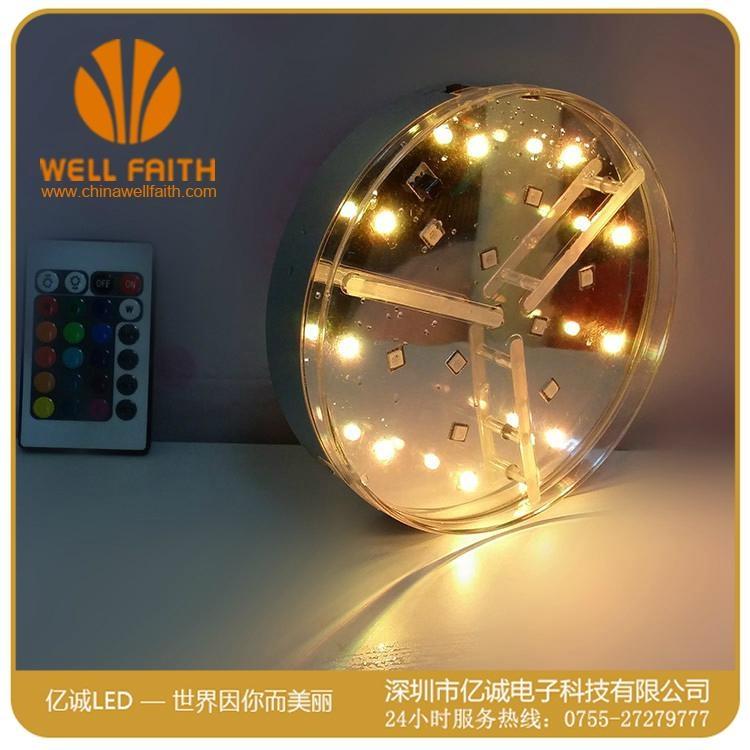 创意防水可遥控LED水族潜水灯 5