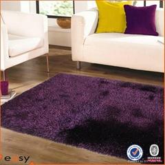 100% Polyester Shaggy Cut Pile Carpet