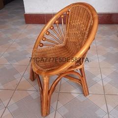 藤椅批發廠家直銷環保手工精編儿童竹藤坐椅 儿童小藤椅