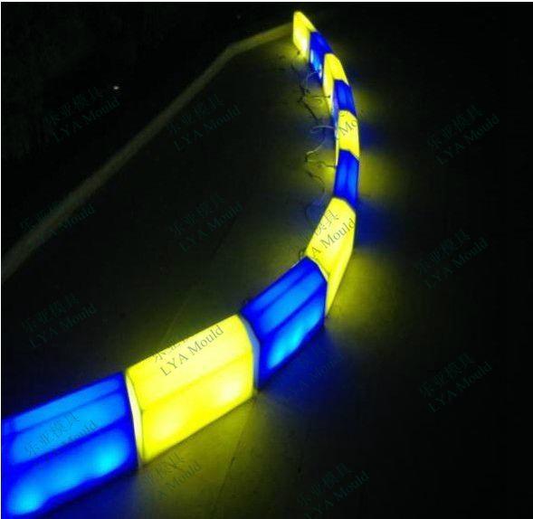 led light curb blocks yellow china manufacturer led lighting