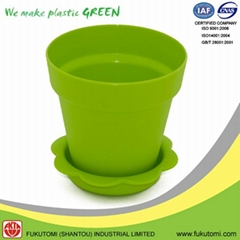 152mm or 6 inch Plastic indoor decorative Plant or Flower pots