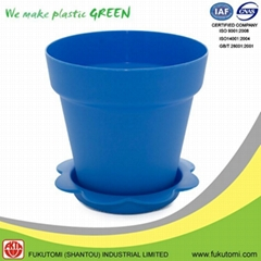 125mm / 5 inch PP plastic decorative Plant or Flower pots indoor Wholesale