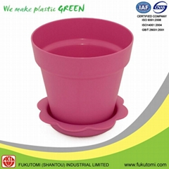 102mm / 4 inch indoor Various color plastic flower pot decorations Wholesale