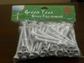 Bio Degradable Compostable PLA Golf Tees 2