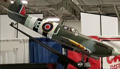 "RC plane full composite Spitfire Mk.IX 81"" ARF model"
