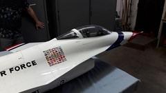 TOPRC JET plane F16 1:6 ThunderBird