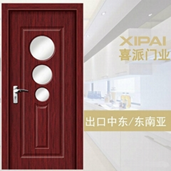 interior wooden door double swing wooden door cheap bedroom wooden door