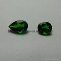 Natural Emerald cut gemstones