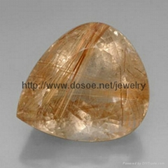 Rutile Quartz Gemstone