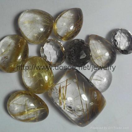 Rutile Quartz Gemstone 2