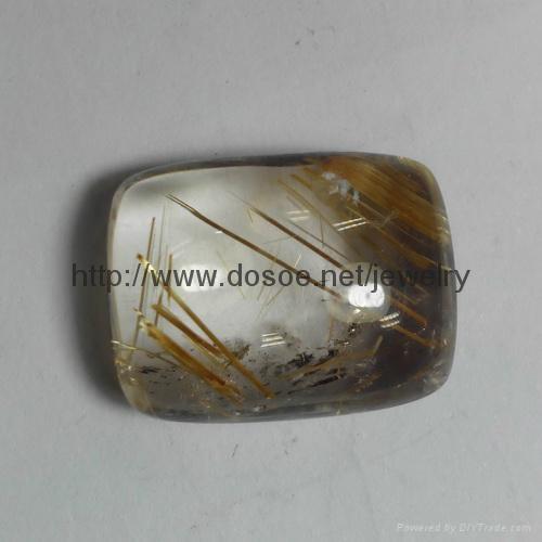 Rutile Quartz Gemstone 3