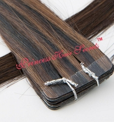 Cheap Tape In Hair Extension Super Tape Unprocessed Malaysia Remy Hair