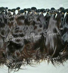 No chemical processing Indian virgin machine-made hair weaves