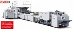 ZB1080S-430 Fully automatic sheet feeding paper bag making machine
