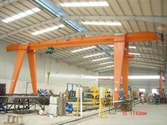 MHB型电动葫芦半门式起重机