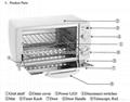 Parts of UV Sterilizer