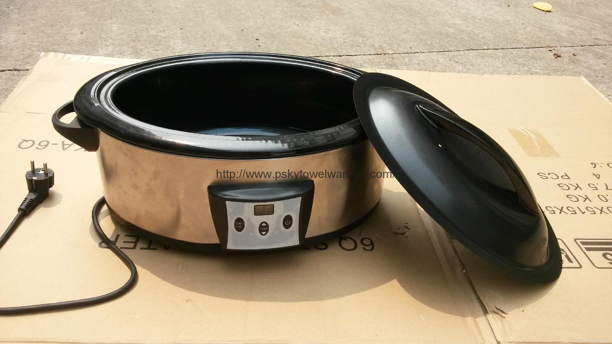 Massage Hot Stone Heater with Digital 4
