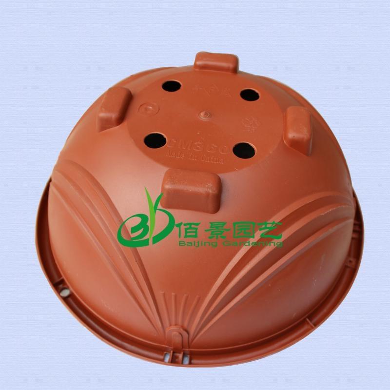360紅色塑料吊蘭花盆 2