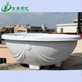 360白色塑料花盆吊兰绿萝种植