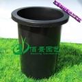 优质加厚黑色兰花塑料花盆