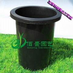 優質加厚黑色蘭花塑料花盆